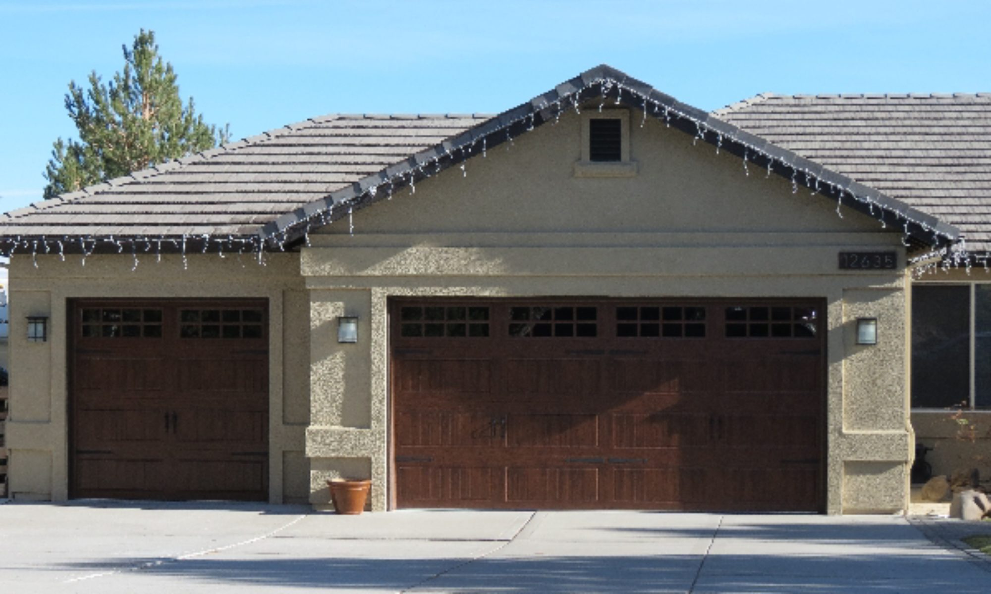 our nevada helping company community overhead secure cropped door to garage for